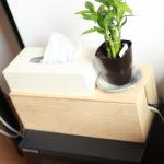 魔法のシャレオツ木箱(コード収納)